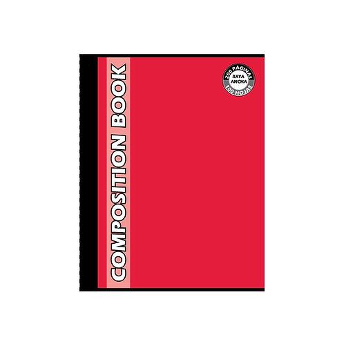 Cuaderno Cosido Grande Composition de Cuadros, 200 páginas
