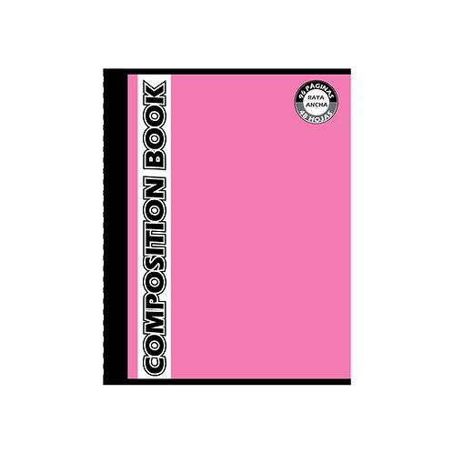 Cuaderno Cosido Grande Composition Doble Raya, 96 páginas