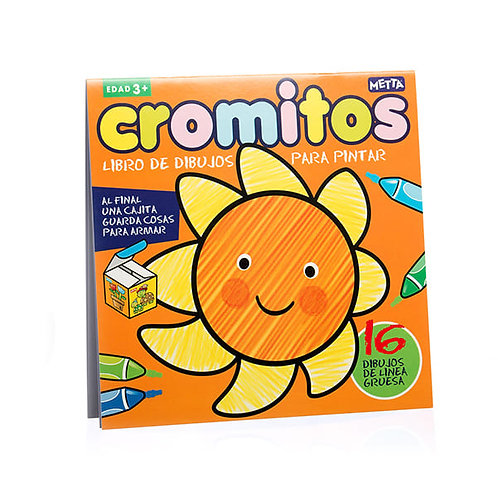 CROMITOS- Libro de dibujos de línea gruesa para pintar