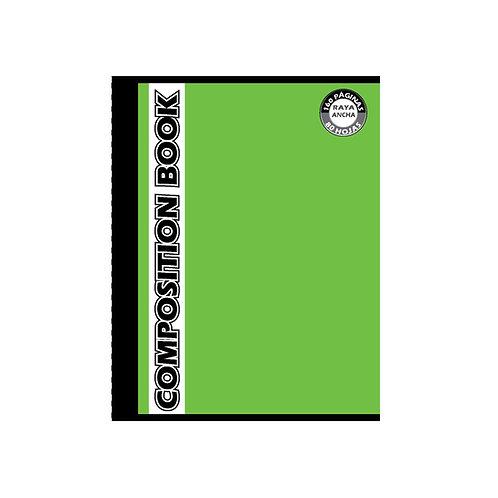 Cuaderno Cosido Grande Composition Cuadros, 160 páginas