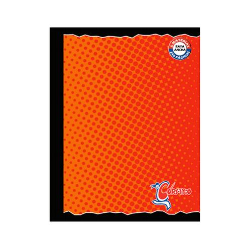 Cuaderno Cosido Grande 5 Materias Raya Ancha Corsario