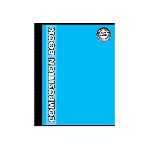 Cuaderno Cosido Grande Composition Dibujo, 200 páginas