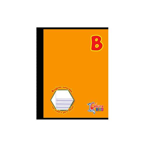 Cuaderno Cosido Corsario Kids sencillo, 200 páginas- Tipo B