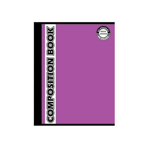 Cuaderno Cosido Grande Composition Cuadros, 96 páginas