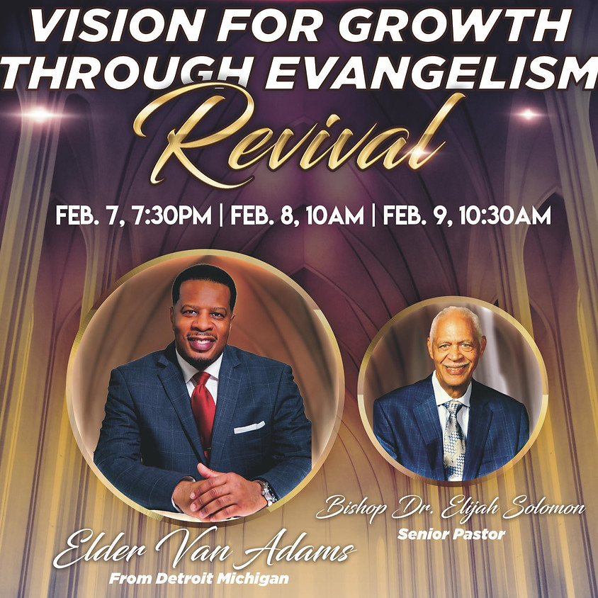 Vision For Growth Through Evangelism Revival