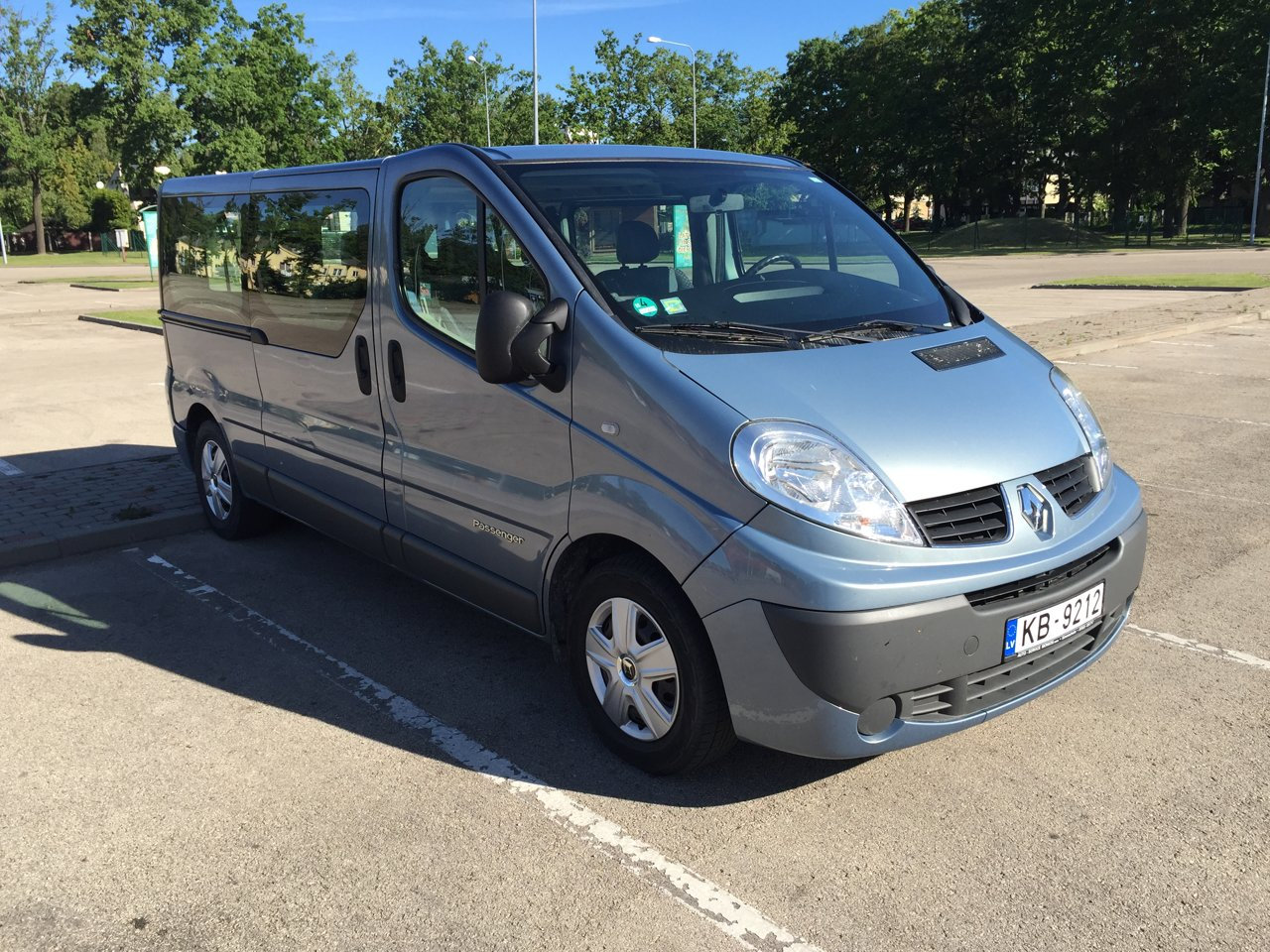 Copy of Minivan up to 8 persons