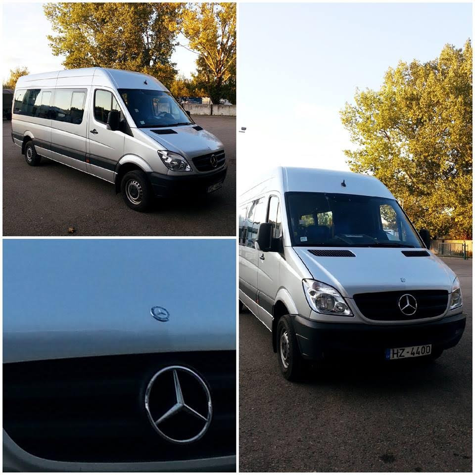 Copy of Minibus up to 16 persons
