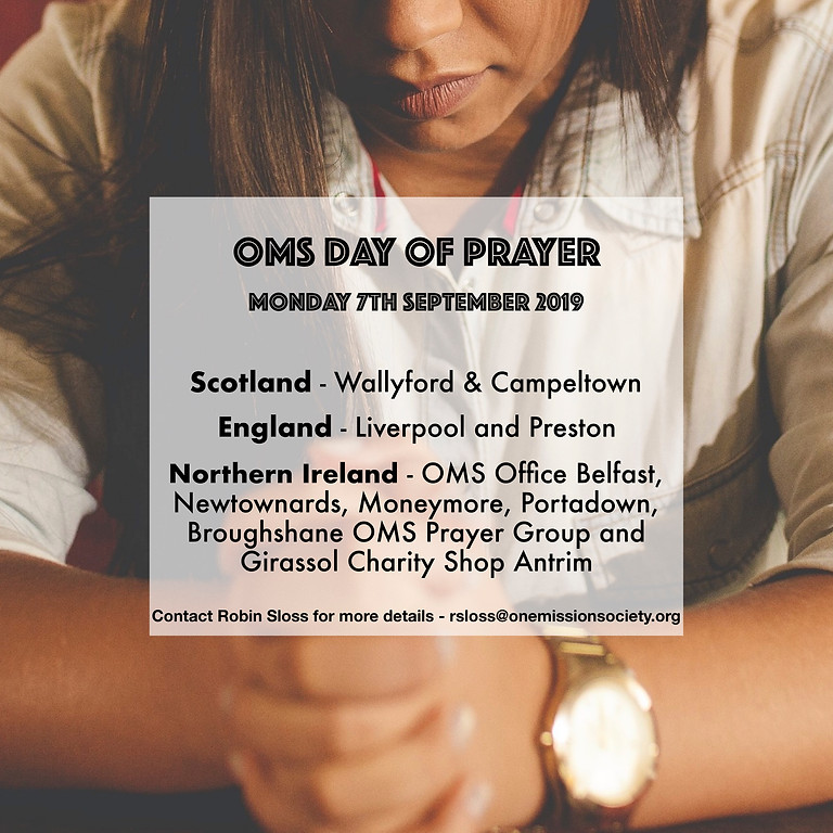 OMS Day of Prayer 2019