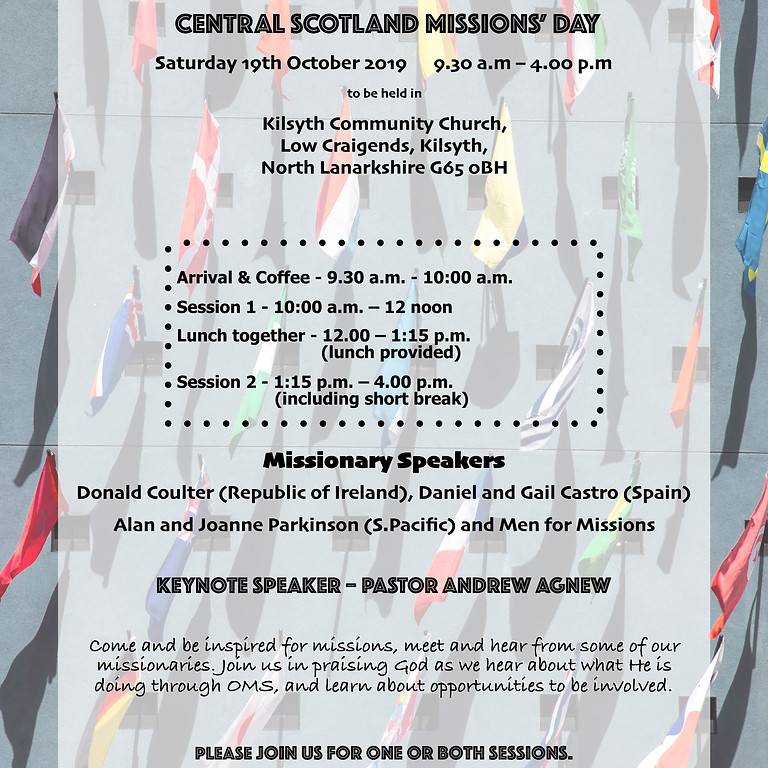 Central Scotland Missions' Day