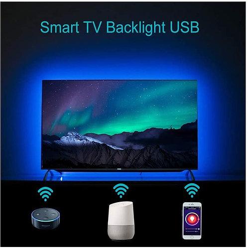 TV LED Backlight w/Alexa & Google Voice