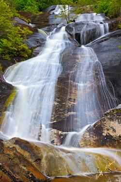 waterslide waterfall