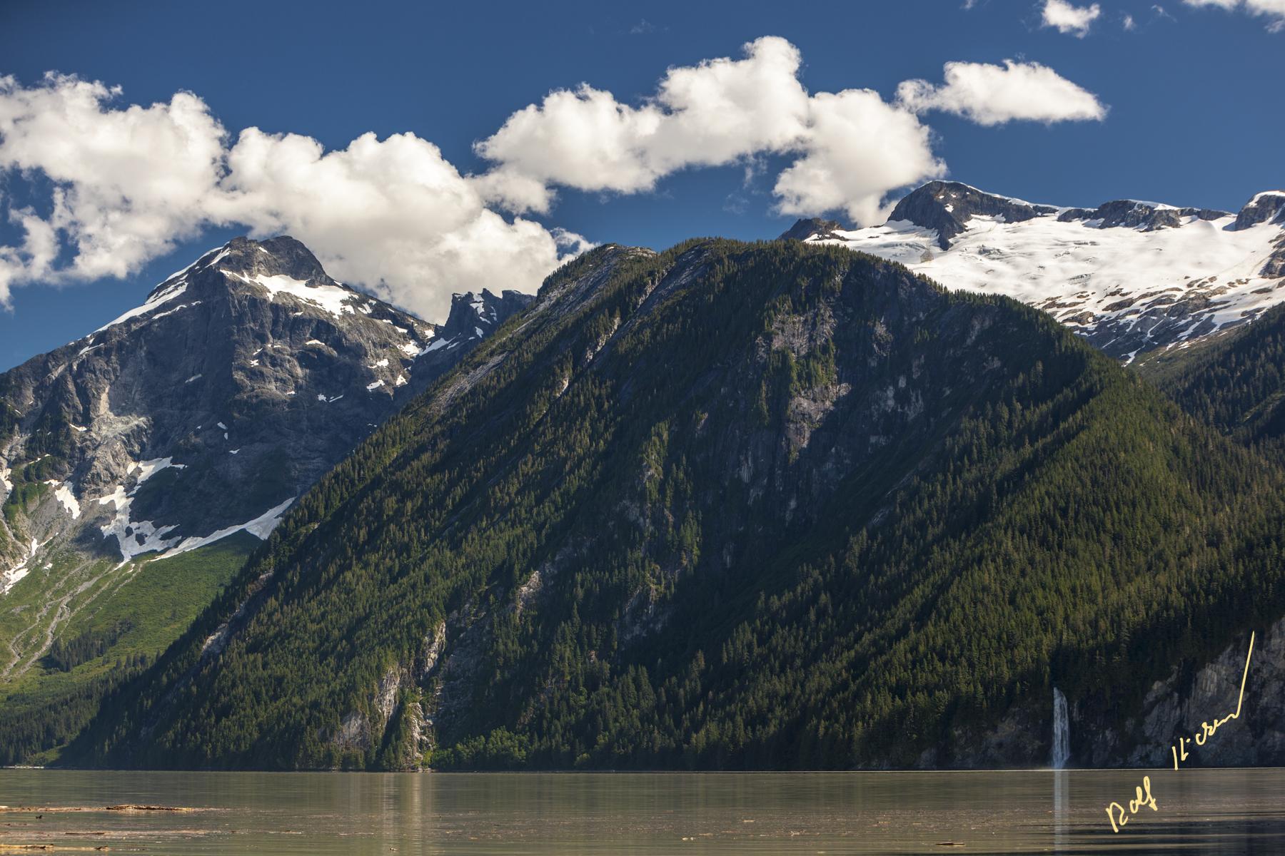 Knight Inlet Glacier