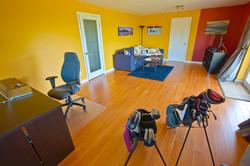 Spacious Living Room Lower Suite