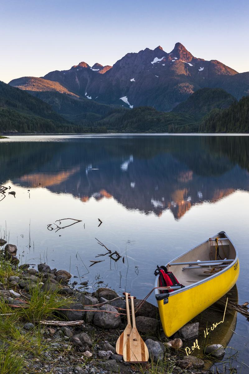 canoe lake vancouver island