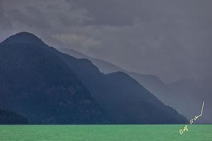 Scenic Knight Inlet british Columbia