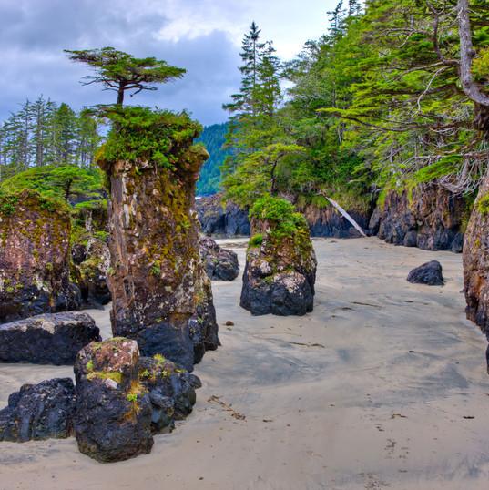 San Josef Bay Stacks