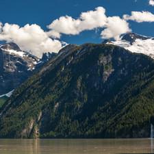 Glacier Knight Inlet