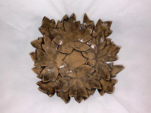 Larger leaf composite bowl