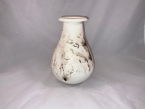 Horse hair Raku vase