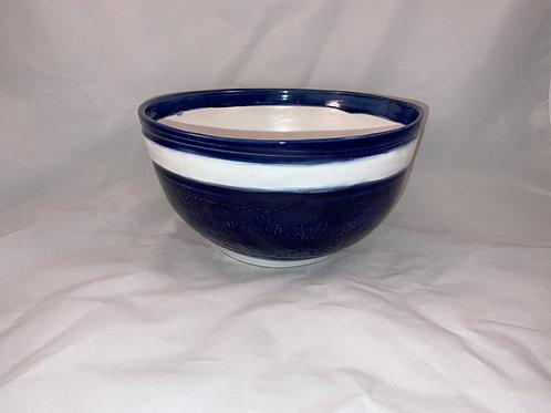 Colbalt blue large bowl