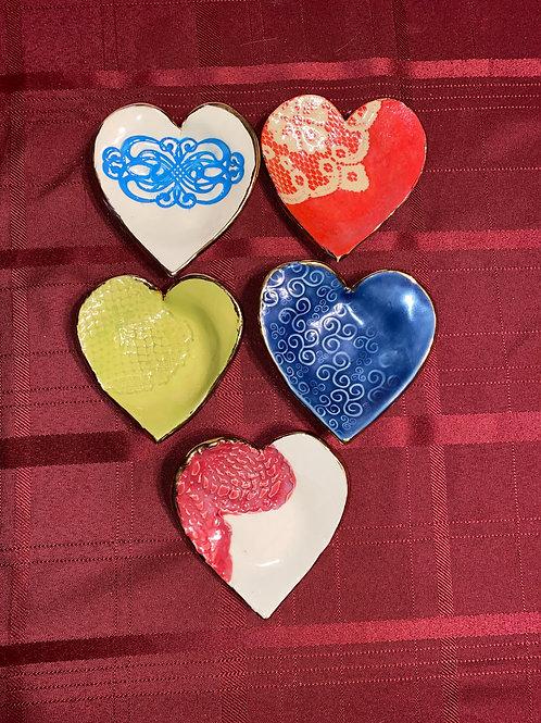 Heart Trinket Holders