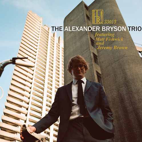The Alexander Bryson Trio CD *available for pre-order*