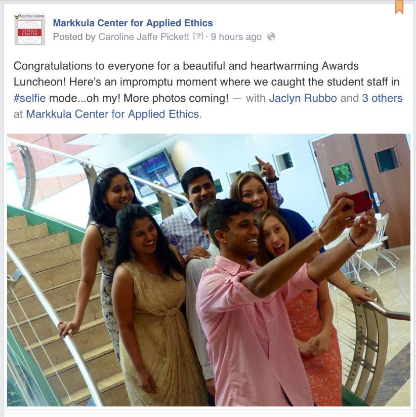 Student Selfies
