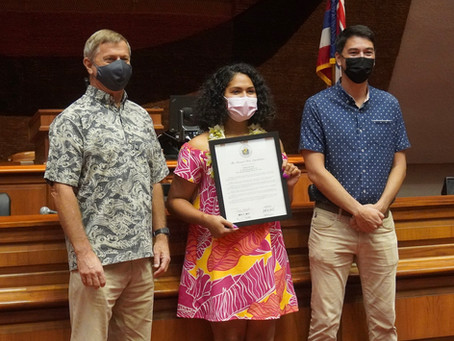 Legislature Recognizes Jocelyn Alo for Being Named the USA Softball Collegiate Player of the Year