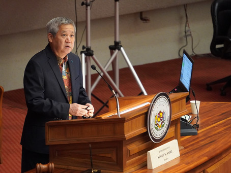 Speaker Saiki Announces National Science Foundation's Outreach for Thirty Meter Telescope