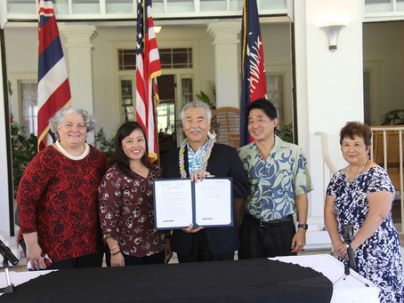 House Bill to Protect Kupuna From Financial Exploitation Signed Into Law by Governor Ige