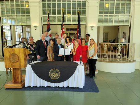 Hawai'i Governor David Ige Signs Bill Designating Juneteenth as a day of Remembrance and Observation