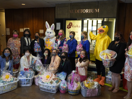 Women's Legislative Caucus Assembles 22nd Annual Easter Basket Collection for Families in Need