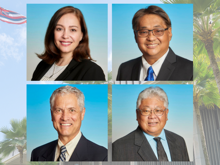 Hawai'i Island Representatives Appointed to Key Leadership Positions for 2021 Legislative Session