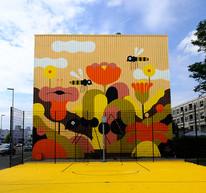 Peperklip Mural