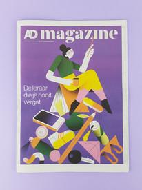 AD magazine cover