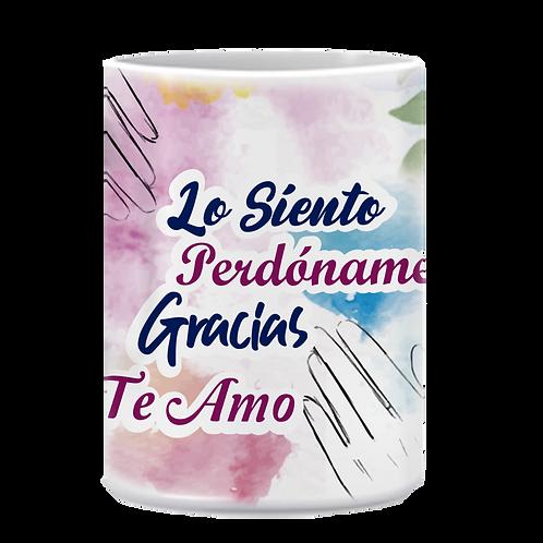 """Mug """"Las Cuatro Palabras 1"""""""