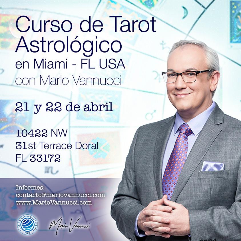 Curso de Tarot Astrológico en Miami, FL