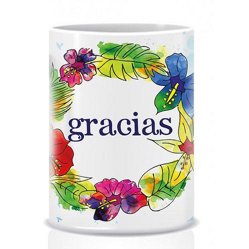 """Mug """"Gracias"""""""