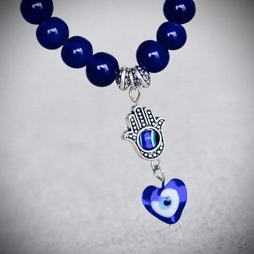 Pulsera Amuleto Talismán Azul