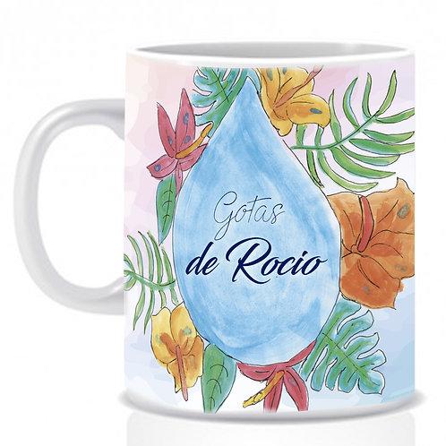 """Mug """"Gotas de Rocío"""""""