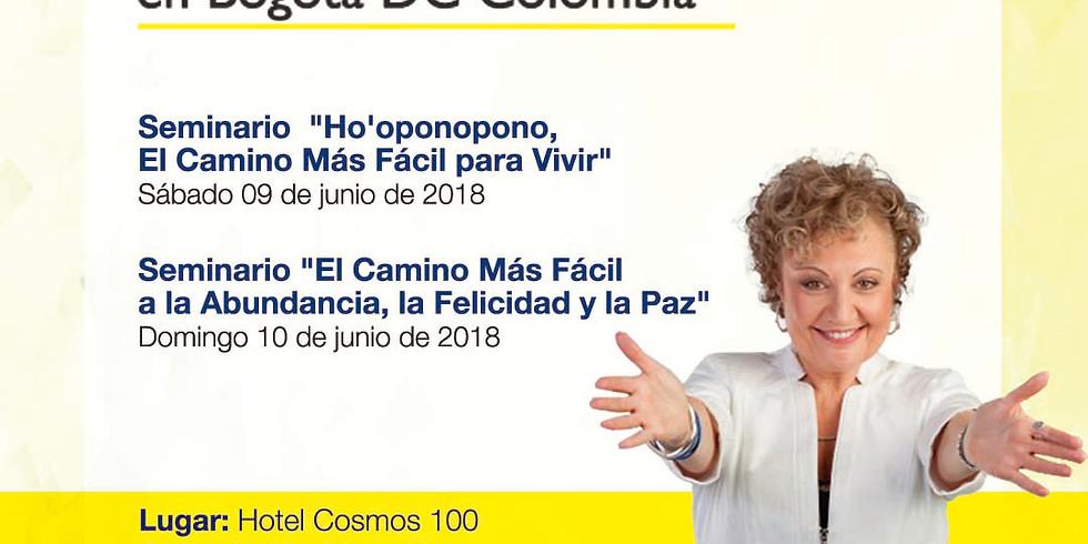 Seminarios Mabel Katz en Bogotá 09 y 10 de Junio de 2018