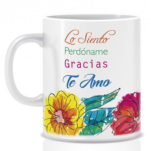 """Mug """"Las Cuatro Palabras"""""""