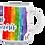 "Thumbnail: Mug""Luces del Arcoiris 1"""