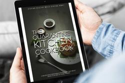 Quarantine Kitchen Cookbook - iPad Cover