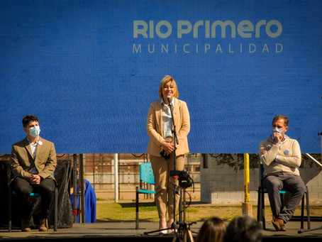 FESTEJOS Y ANUNCIO DE OBRAS EN EL 133 ANIVERSARIO DE RÍO PRIMERO