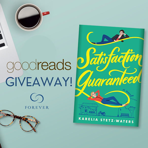 satisfaction guaranteed goodreads giveaw
