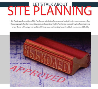 Commercial components explained...Site Planning for your Commercial Project