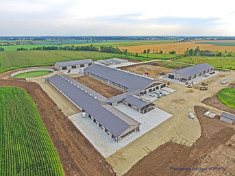 Project Feature: Twinlocust Farms, Sunnidale, Ontario - New Dairy Facility