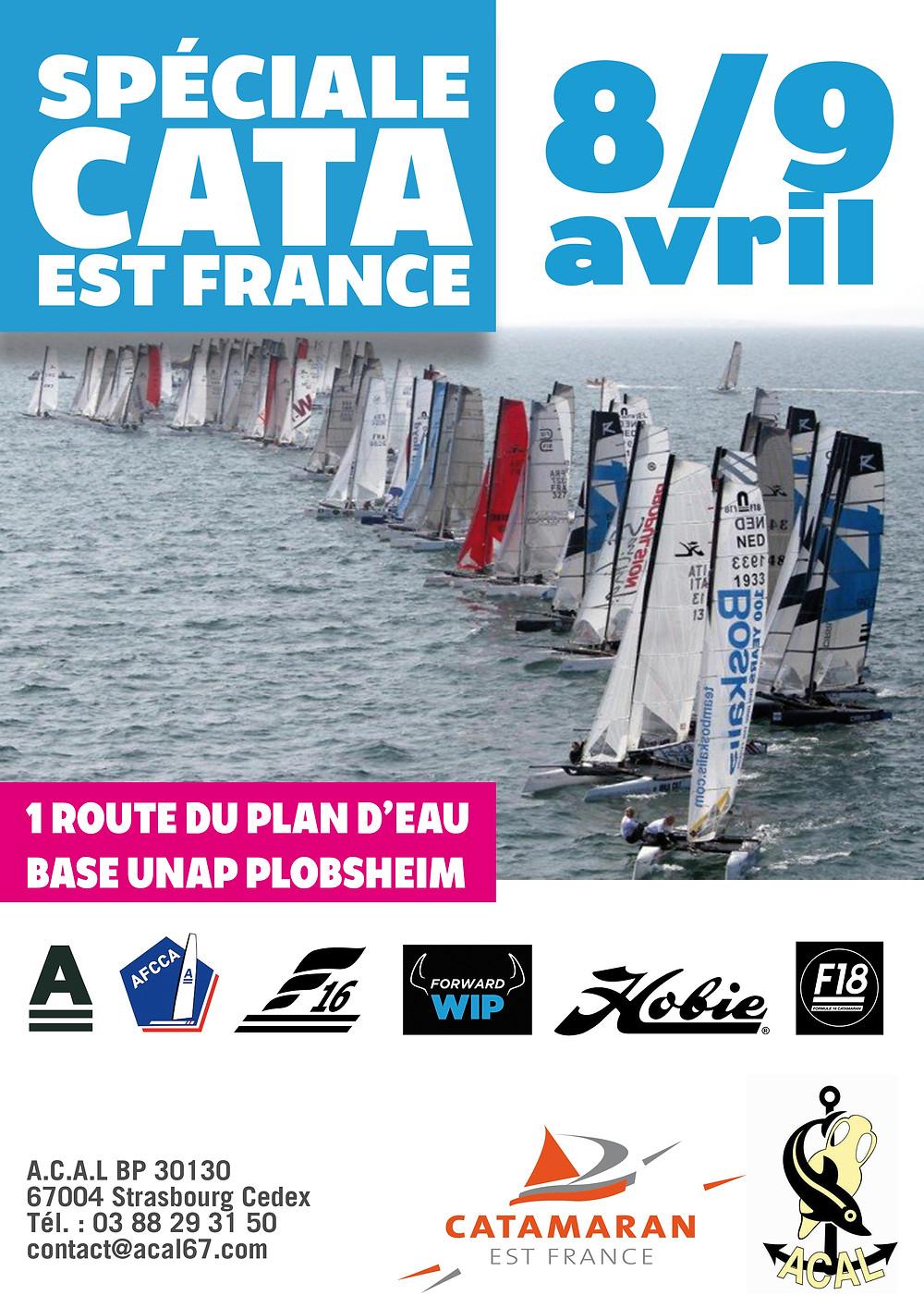 Affiche Spéciale Cata Est France