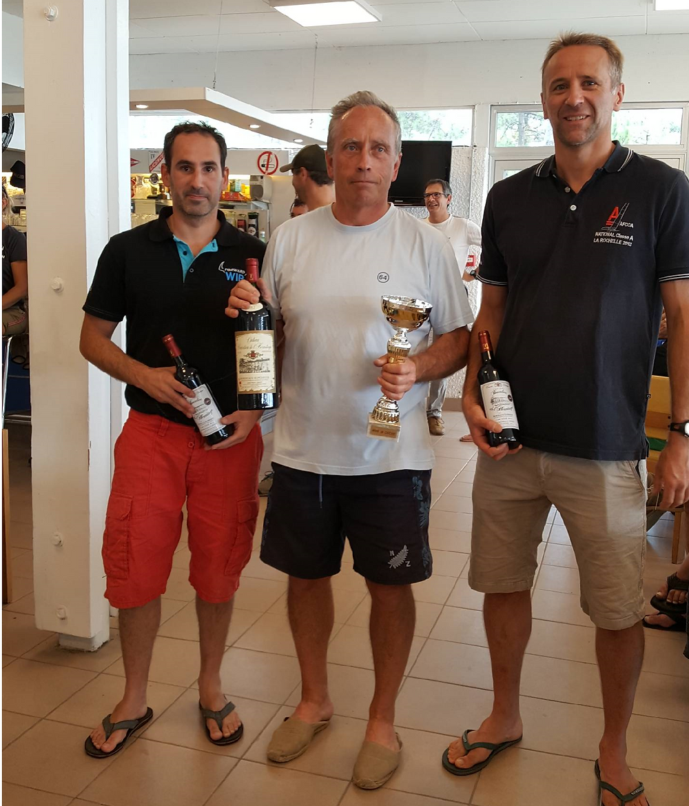 Podium Coupe des vendanges 2018